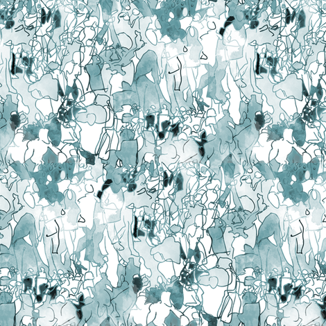 OccupyWallstreetTile fabric by emilyclaire on Spoonflower - custom fabric