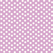 Pretty Polka Dots in Lavender