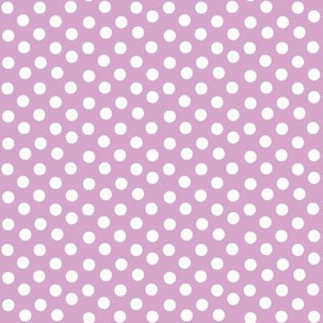 Pretty Polka Dots in Lavender