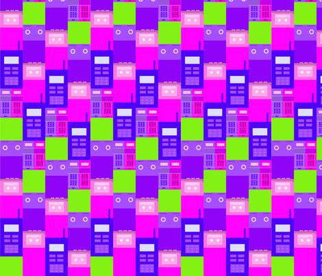 Pixel i tup fabric by nerida_jeannie on Spoonflower - custom fabric