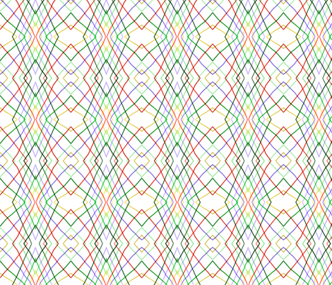 Vertical wayward stripes 1 fabric by su_g on Spoonflower - custom fabric