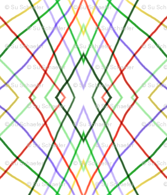 Vertical wayward stripes 1