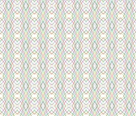 Vertical wayward stripes 1 fabric by su_g on Spoonflower - custom fabric
