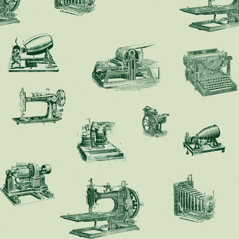 vintage_technology_greens