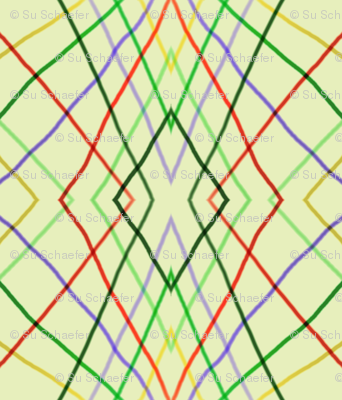 Vertical wayward stripes 3