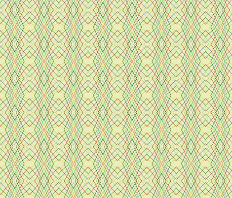 Vertical wayward stripes 3 fabric by su_g on Spoonflower - custom fabric