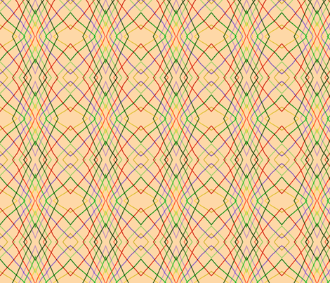Vertical wayward stripes 2 fabric by su_g on Spoonflower - custom fabric