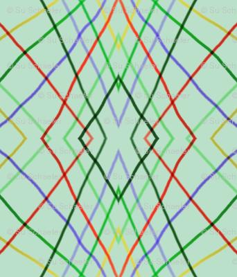 Vertical wayward stripes 4