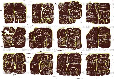 Palenque Glyphs 2a