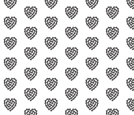 bike_tattoo fabric by nickmcmom on Spoonflower - custom fabric