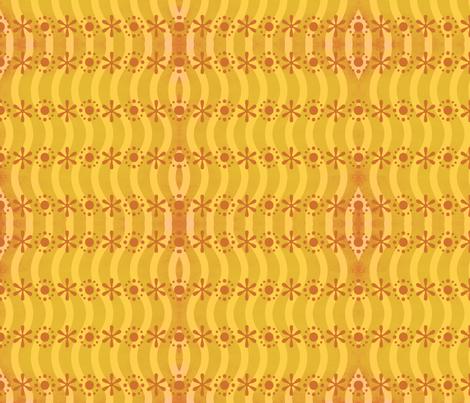 Atomic Kiss Goodnight fabric by jessamarie on Spoonflower - custom fabric