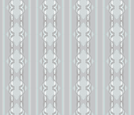 Lady Halftone fabric by jessamarie on Spoonflower - custom fabric
