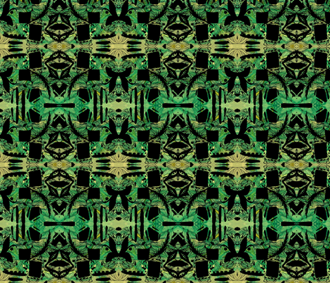 Tribal Forest fabric by missmorice on Spoonflower - custom fabric