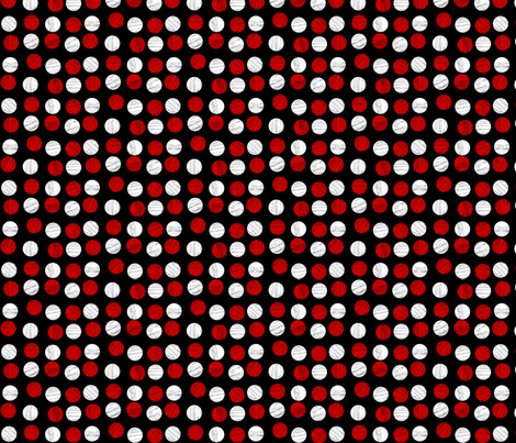 red_and_white_dots fabric by glimmericks on Spoonflower - custom fabric