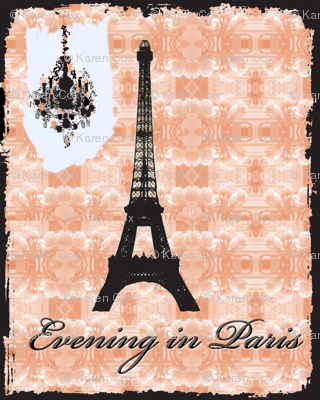 Evening in Paris on new black