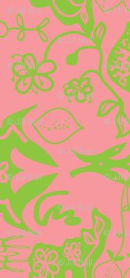 lime blossom (damask)