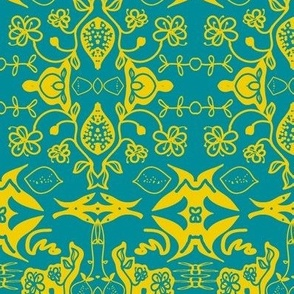 lemon blossom (damask)