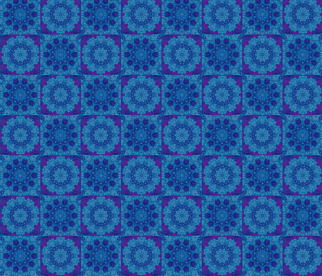 lavender blue  checkered fabric by krs_expressions on Spoonflower - custom fabric