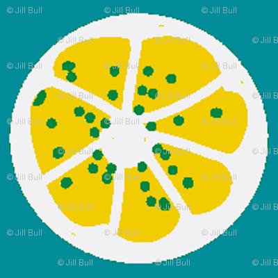 citrus spots (lemony)
