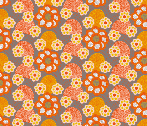 Let bygones be remembered fabric by zoebrench on Spoonflower - custom fabric