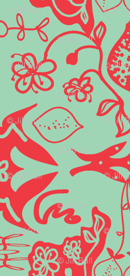 orange blossom (damask)
