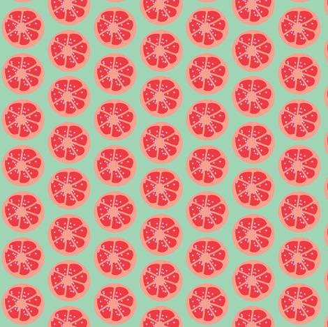 citrus spots ©2012 Jill Bull fabric by palmrowprints on Spoonflower - custom fabric