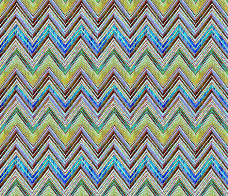 Santa Anna Chevron fabric by joanmclemore on Spoonflower - custom fabric