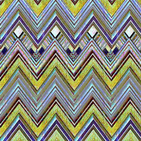 Amarillo Chevron fabric by joanmclemore on Spoonflower - custom fabric