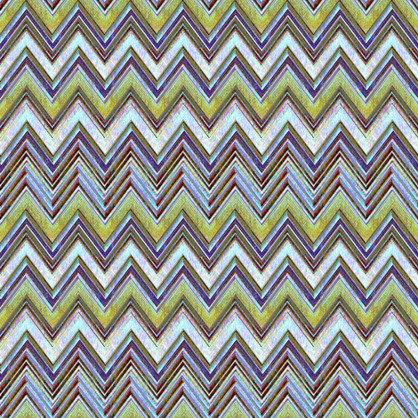 Canyon Chevron fabric by joanmclemore on Spoonflower - custom fabric