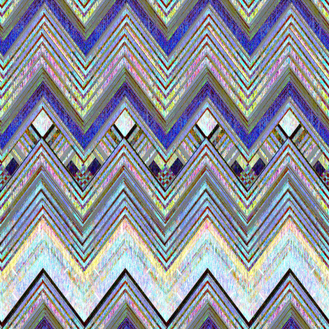 Sierra Sundown Chevron fabric by joanmclemore on Spoonflower - custom fabric