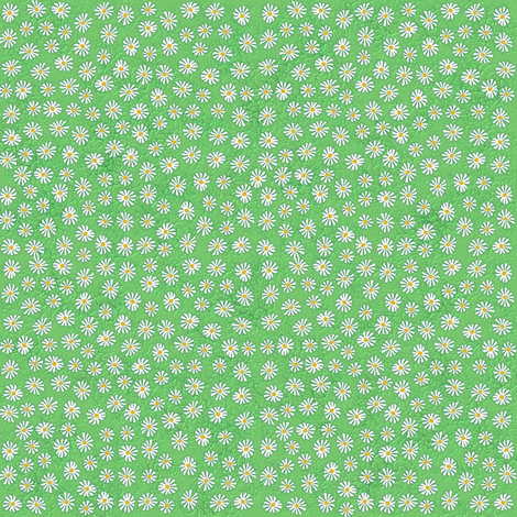 daisy_mini fabric by kirpa on Spoonflower - custom fabric