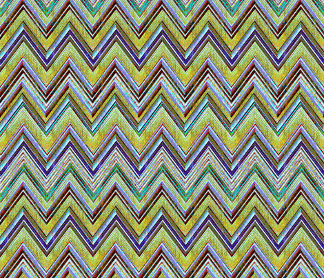 Mojave Chevron fabric by joanmclemore on Spoonflower - custom fabric