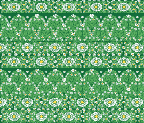 Daisygreen fabric by kirpa on Spoonflower - custom fabric