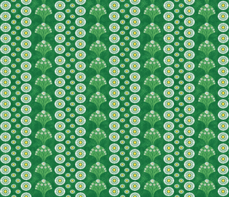 daisy_strips fabric by kirpa on Spoonflower - custom fabric
