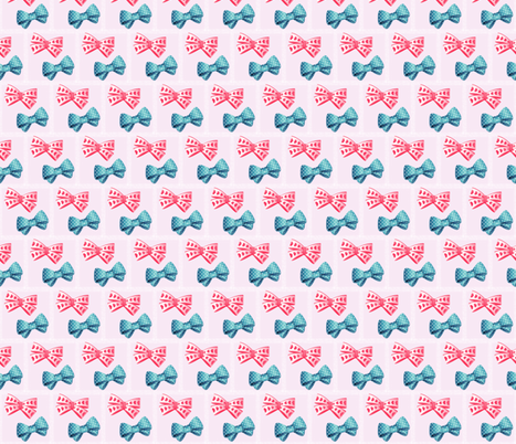 bows fabric by krs_expressions on Spoonflower - custom fabric