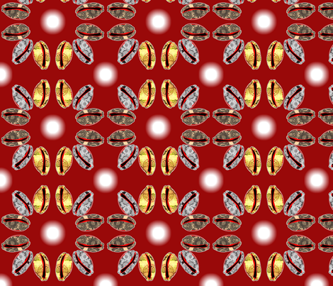 shell game fabric by nalo_hopkinson on Spoonflower - custom fabric