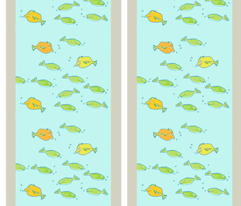 boys dream of fishing fabric by camillacarraher on Spoonflower - custom fabric