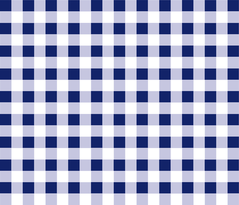 Check blue true fabric by demouse on Spoonflower - custom fabric