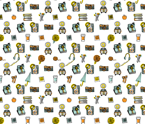 Photo Love fabric by red_velvet on Spoonflower - custom fabric