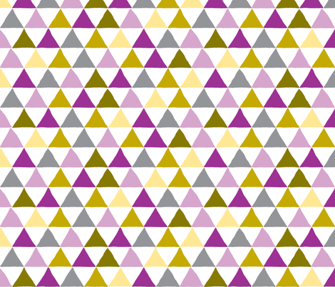 Pyramid Scheme in Violet fabric by red_velvet on Spoonflower - custom fabric