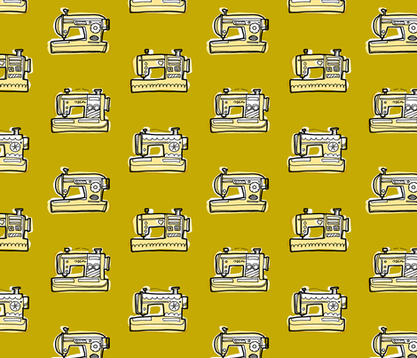 Sew Me Pretty fabric by red_velvet on Spoonflower - custom fabric