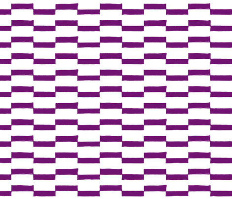 Dash Across in Violet fabric by red_velvet on Spoonflower - custom fabric