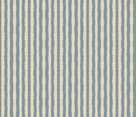 kissy wiggle stripe blue fabric by scrummy on Spoonflower - custom fabric