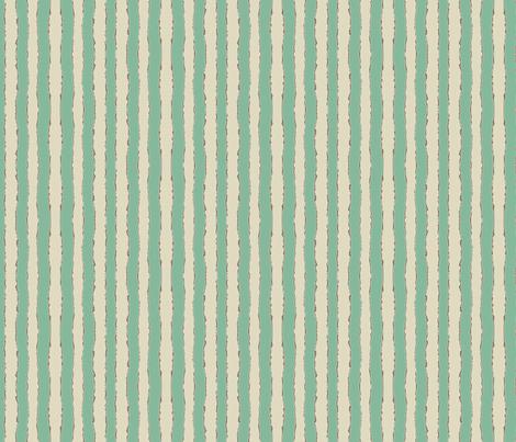 kissy wiggle stripe jade fabric by scrummy on Spoonflower - custom fabric