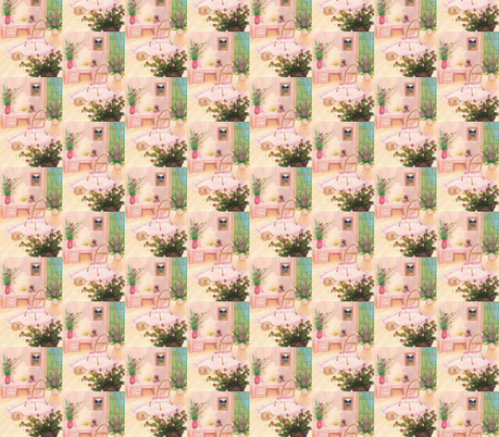 powderoom fabric by krs_expressions on Spoonflower - custom fabric
