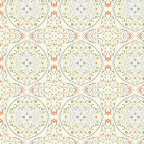 cupcake-coral-015 fabric by wren_leyland on Spoonflower - custom fabric