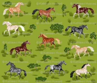 Horses B 8 small
