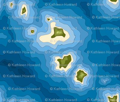Ocean map J