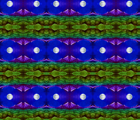 moon mountain fabric by krs_expressions on Spoonflower - custom fabric