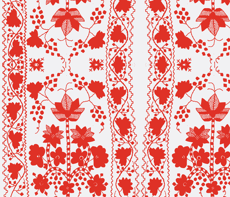 rednwhite-ed-ch fabric by kimbergay on Spoonflower - custom fabric